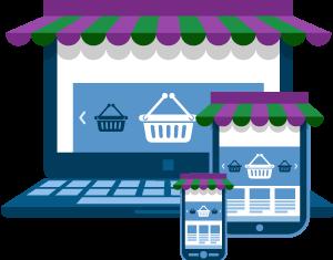 Verkkokauppa toimii pöytäkoneella sekä tablet- ja mobiililaitteella