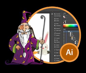 Adobe Illustrator -harjoittelija