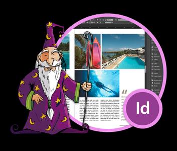 Adobe InDesign -harjoittelija