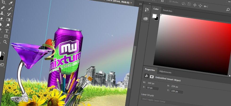 Mixtum Photoshop kurssi ja koulutus