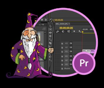 Adobe Premiere Pro -harjoittelija
