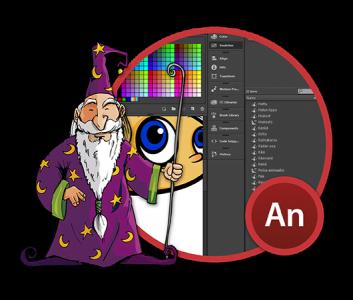 Adobe Animate -harjoittelija
