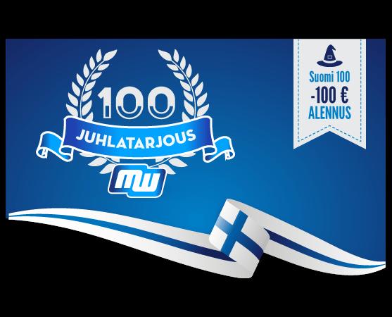 Suomi100-juhlatarjous