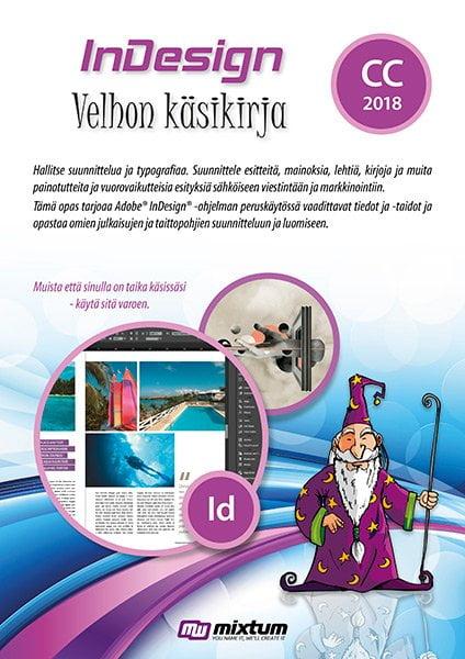 Adobe InDesign CC 2018 velhon käsikirja