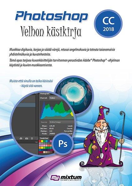 Adobe Photoshop CC 2018 velhon käsikirja