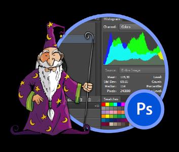 Adobe Photoshop -harjoittelija