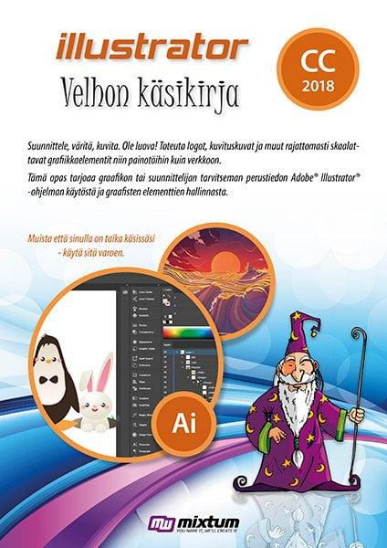 Adobe Illustrator CC 2018 velhon käsikirja