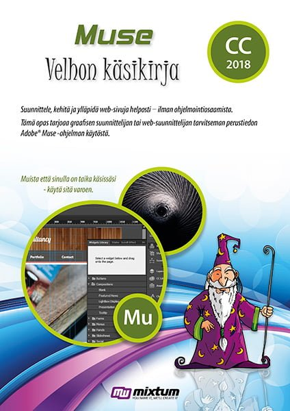 Adobe Muse CC 2018 velhon käsikirja