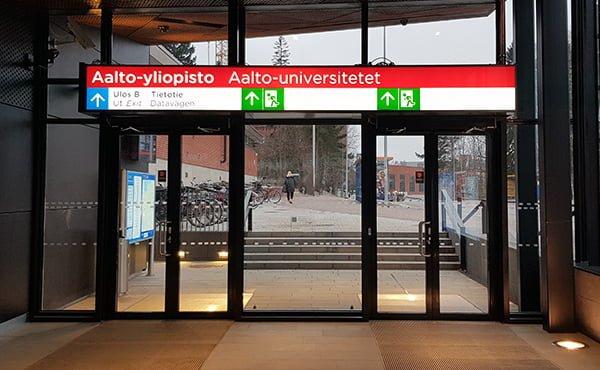 Länsimetro, Aalto-yliopisto, Tietotie