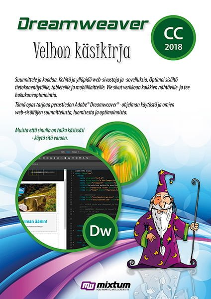 Adobe Dreamweaver CC 2018 Velhon käsikirja