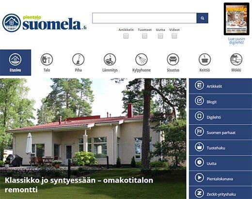 Mixtum case-projekti: suomela.fi -verkkosivusto