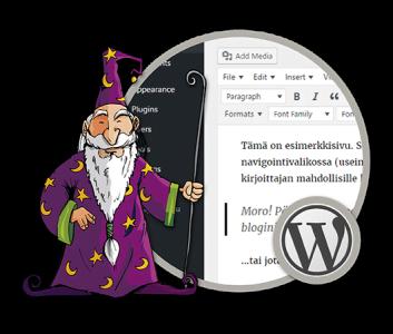 WordPress -harjoittelija