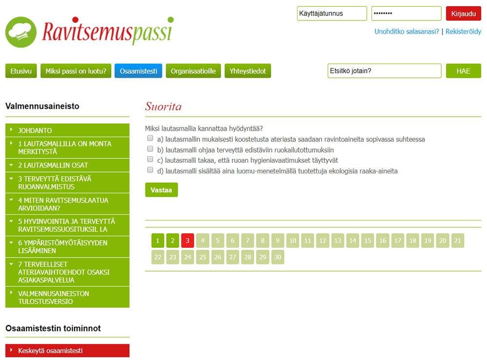 Ravitsemuspassi.fi