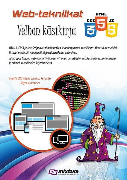 Web-tekniikat HTML5 CSS3 velhon käsikirja