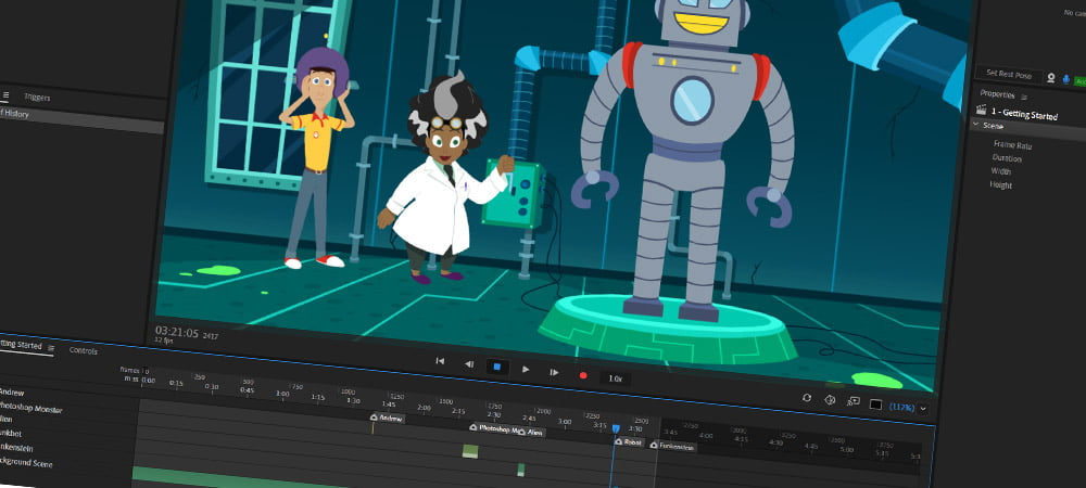 Adobe Charachter Animator CC 2019