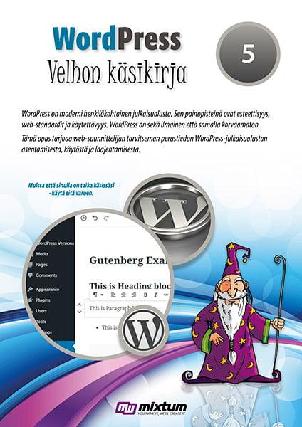 WordPress 5 -velhon käsikirja