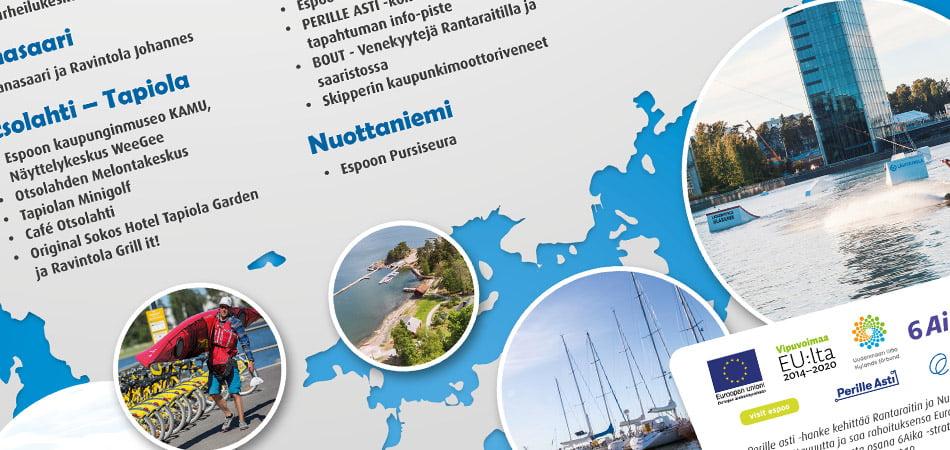 Espoon Rantaraitin kesäkauden avaus -julisteet