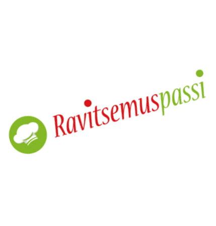 Ravitsemuspassi logo suunnittelu