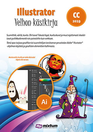 Adobe Illustrator CC 2019 velhon käsikirja