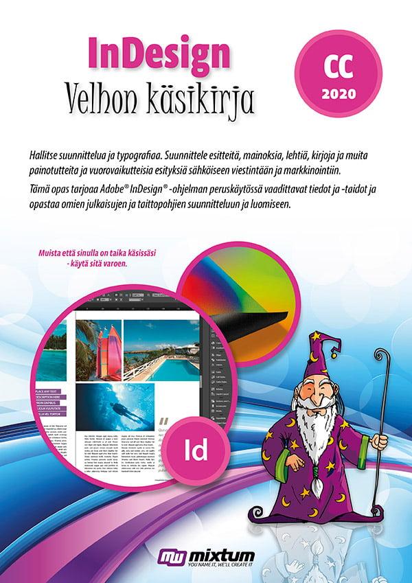 Adobe InDesign CC 2020 velhon käsikirja