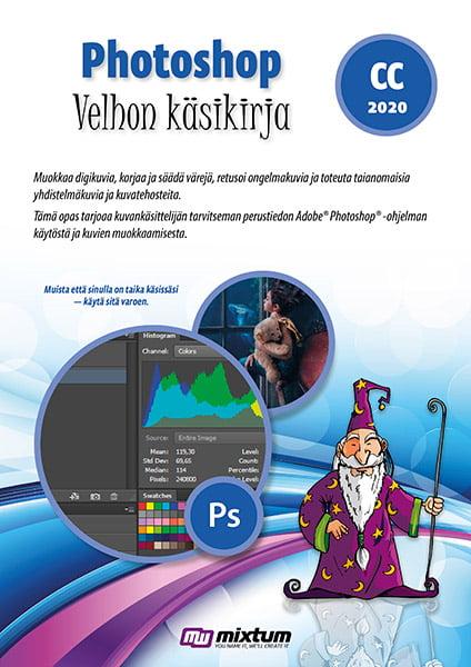 Adobe Photoshop CC 2020 velhon käsikirja