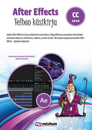 Adobe After Effects CC 2020 velhon käsikirja