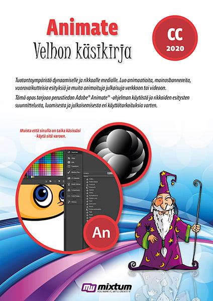 Adobe Animate CC 2020 velhon käsikirja