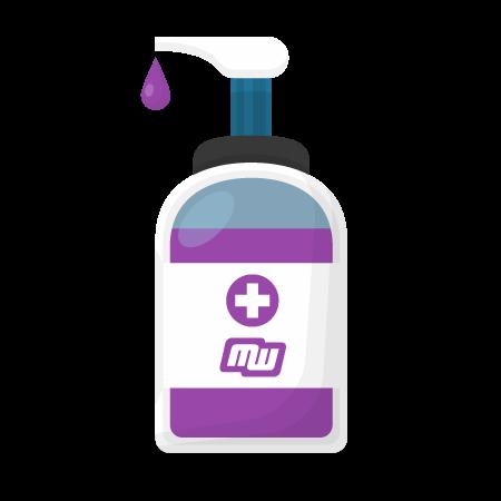 Mixtum covid-19 virus hand sanitizer