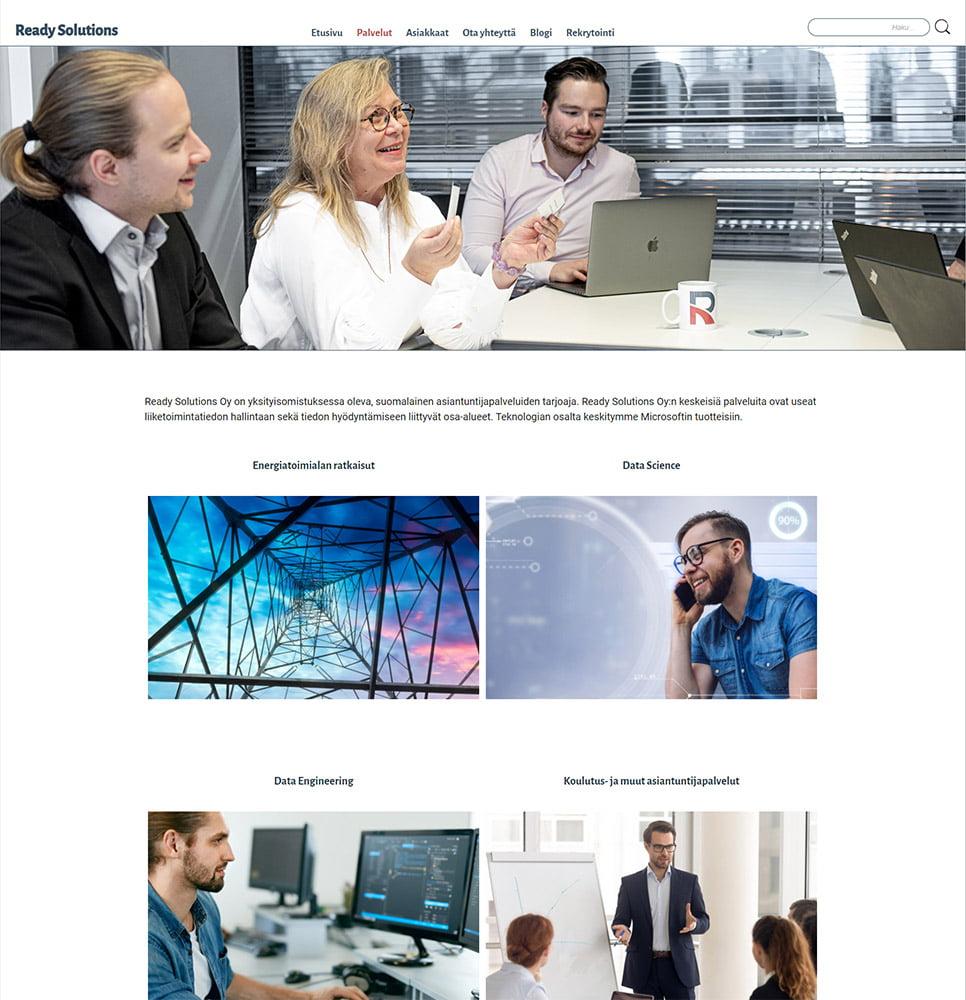 Ready Solutions työnäytekuva 1