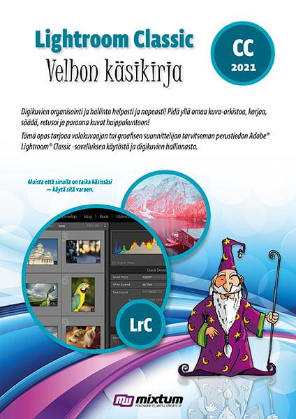 Adobe Lightroom Classic 2021 velhon käsikirja